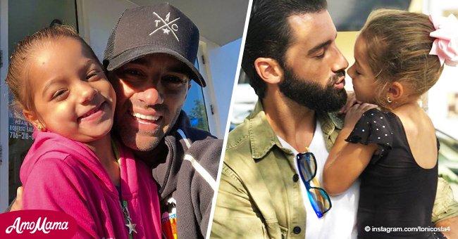 La pequeña Alaïa visitó a Toni Costa en MQB y su baile juntos derrite corazones en Internet