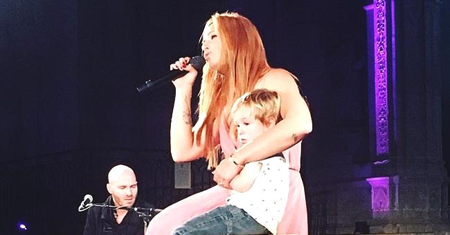 Natasha St-Pier : le moment où son petit fils n'a pas pu retenir ses larmes à son concert