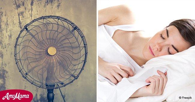 mirror wenn sie einen ventilator ber die ganze nacht laufen lassen kann es ihrer gesundheit. Black Bedroom Furniture Sets. Home Design Ideas
