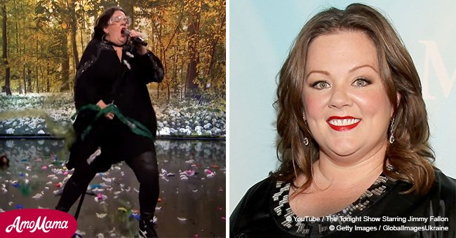 Melissa McCarthy's amazing 'Lip Sync Battle' performance totally crushes Jimmy Fallon
