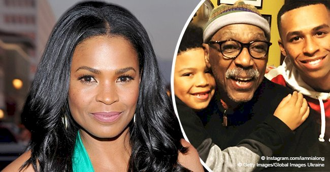 Nia Long shares touching photo of her father and two sons, showing their striking resemblance