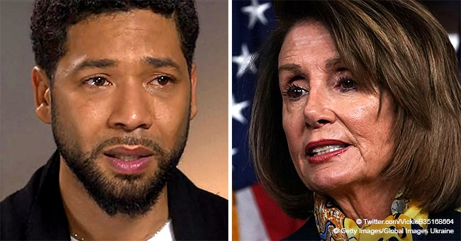 Nancy Pelosi deletes tweet supporting Jussie Smollett after reports he may have staged his assault