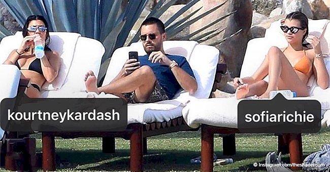 Kourtney Kardashian, Sofia Richie & Scott Disick shock fans by vacationing together with kids