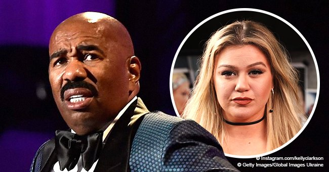 Steve Harvey hints he's leaving his talk show after Kelly Clarkson's new deal with NBC