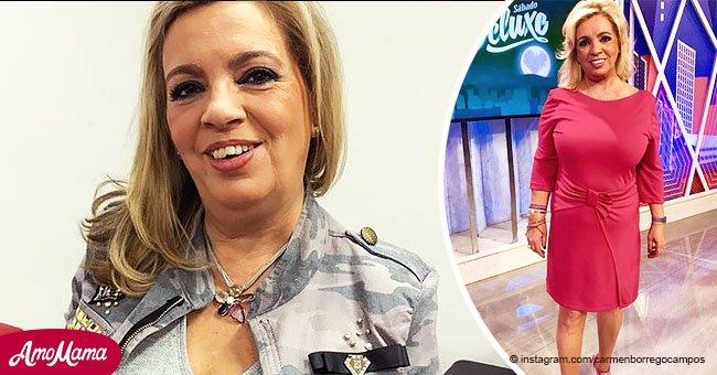 Carmen Borrego revolucionó Instagram al presumir los cambios en su figura