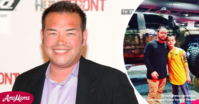 Jon Gosselin shared a sweet new photo taken with his beloved son Collin