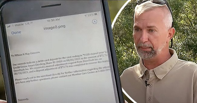 A lengthy letter on a cellphone screen. | Source: youtube.com/WFLA News Channel 8