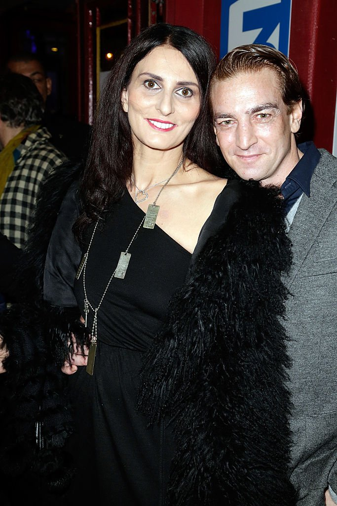 Ludovic Chancel et sa compagne Sylvie Ortega Munos. l Source : Getty Images