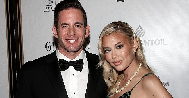 Tarek El Moussa and Heather Rae Young attend the Give Easy event hosted by Ronald McDonald House Los Angeles at Avalon Hollywood on November 07, 2019 in Los Angeles, California | Photo: Getty Images