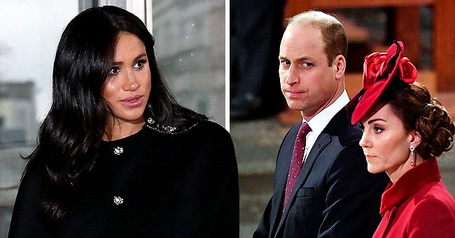 Us Weekly: Meghan Markle & Prince William Kept a Distance during Commonwealth Day Service