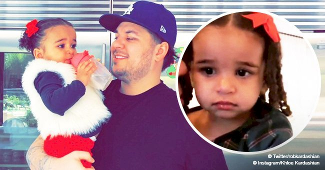 Rob Kardashian and daughter Dream spent rare time with family on Christmas