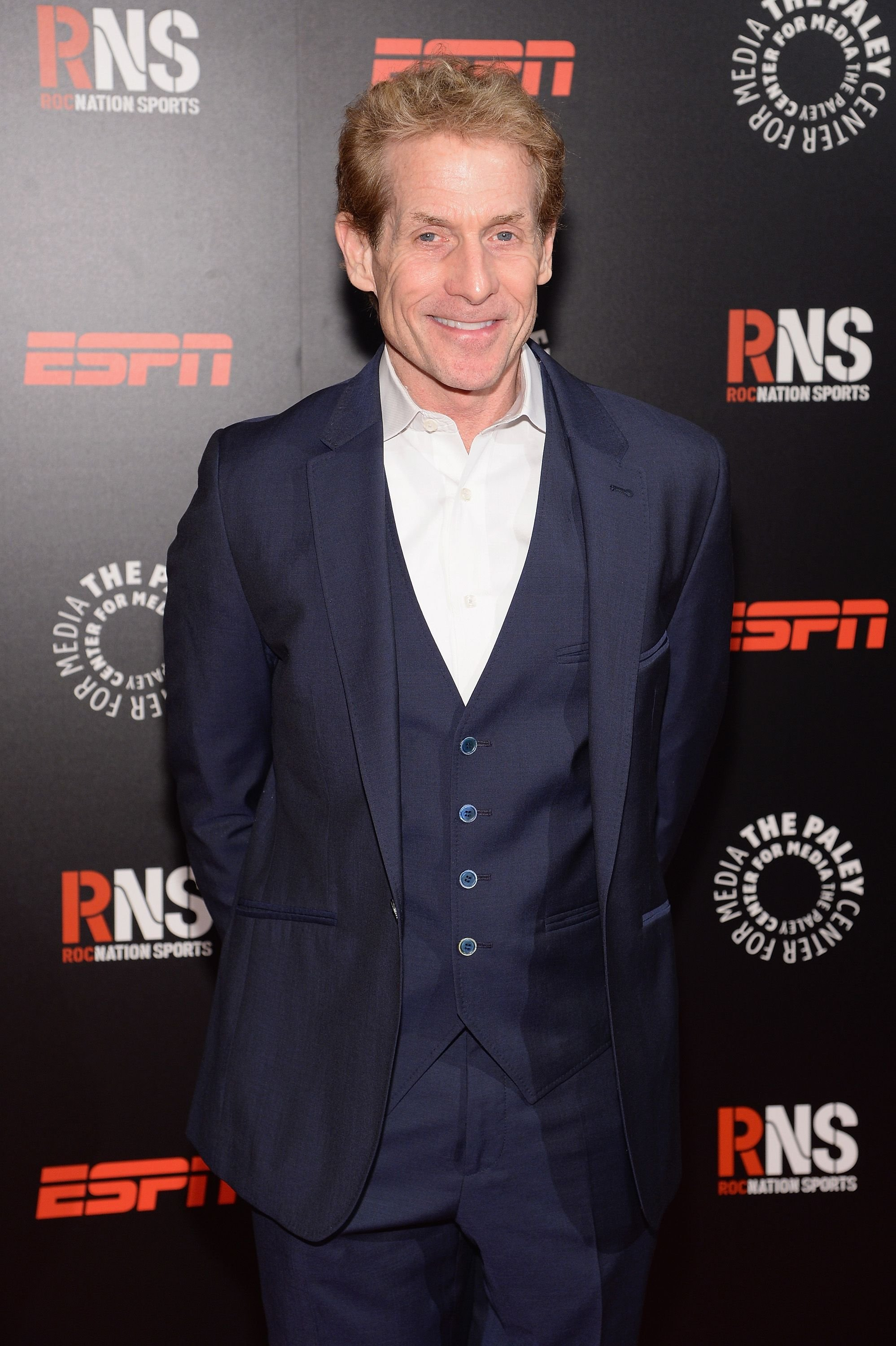 Skip Bayless at the Paley Prize Gala honoring ESPN's 35th anniversary in 2014 in New York City | Source: Getty Images