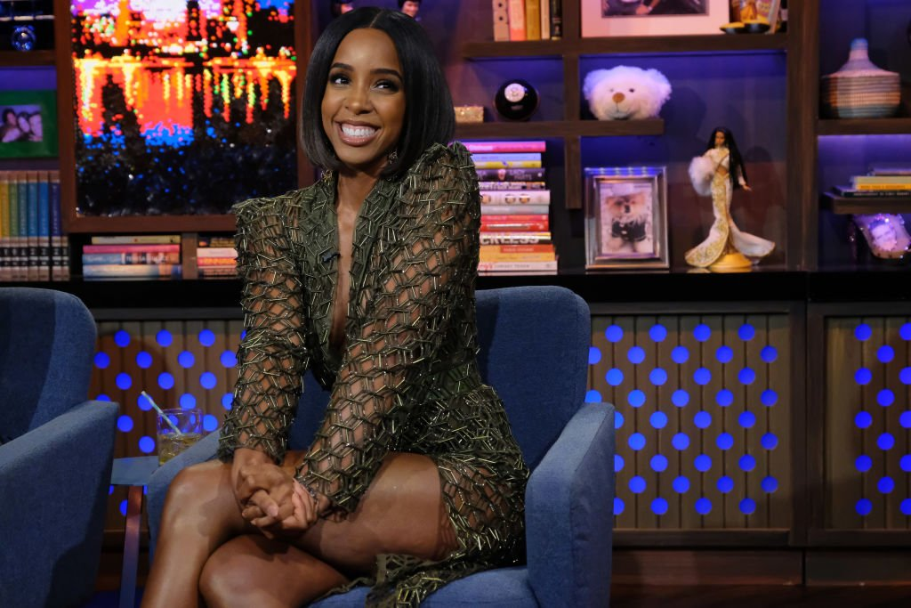 """Kelly Rowland on the set of """"Watch What Happens Live With Andy Cohen"""" on November 24, 2019.   Source: Getty Images"""