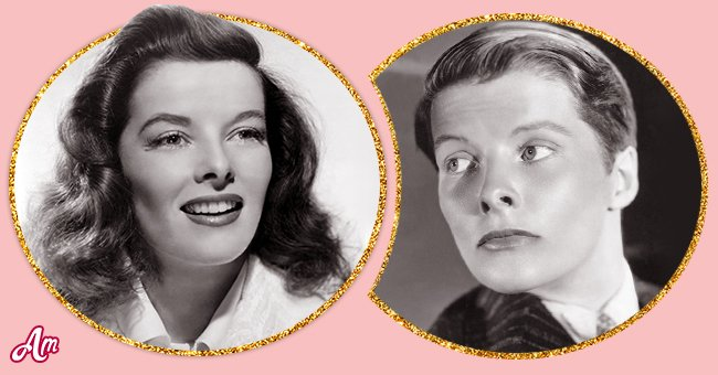 """Katharine Hepburn in """"The Philadelphia Story,"""" in 1940 and in """"Sylvia Scarlett"""" in 1935.   Source: Getty Images"""