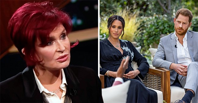 Sharon Osbourne Reportedly Slams Prince Harry Calling Him the Face Of White Privilege