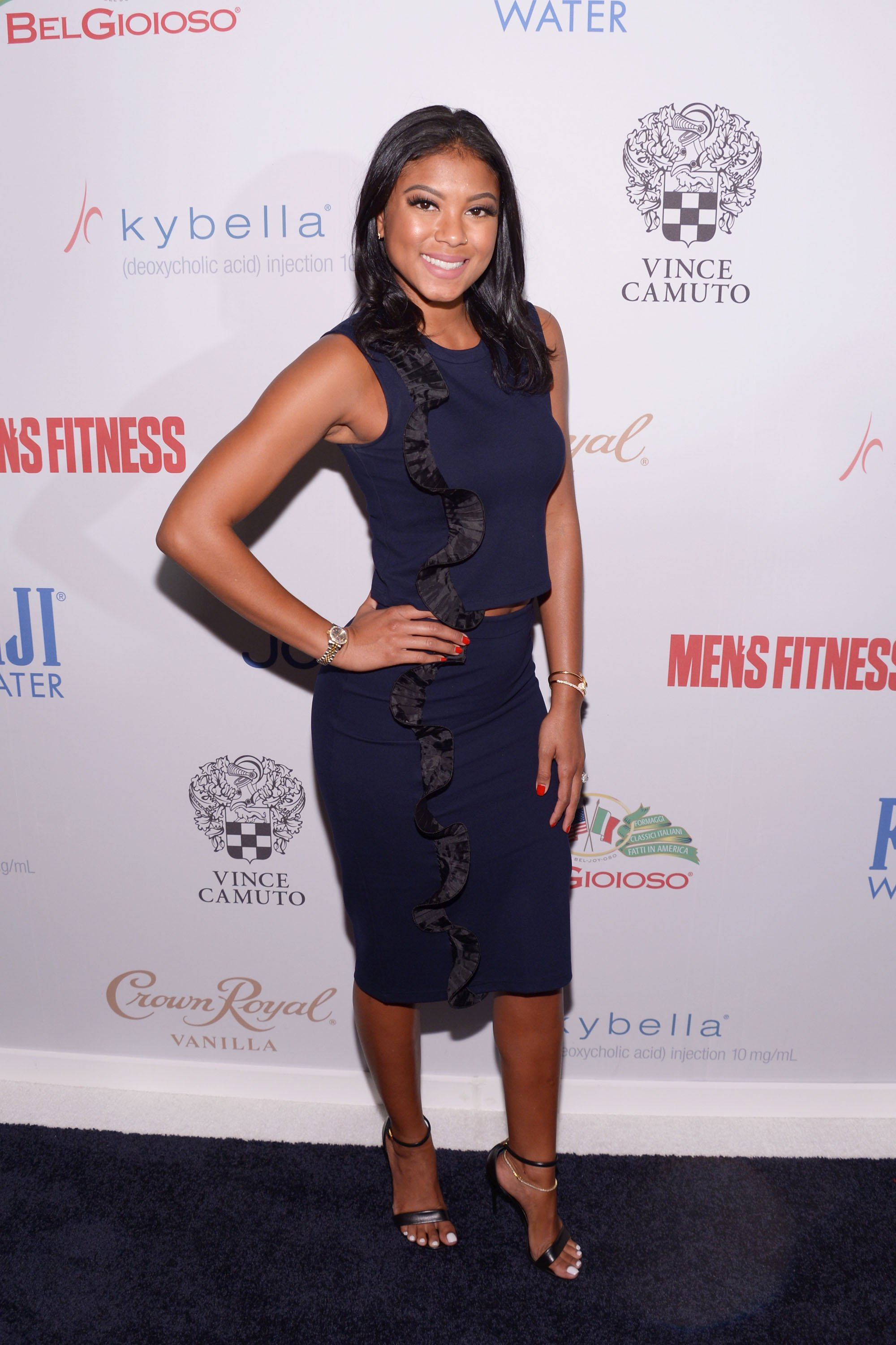 Eniko Hart at the Men's Fitness Game Changers Celebration in West Hollywood, California, 2016 | Source: Getty Images