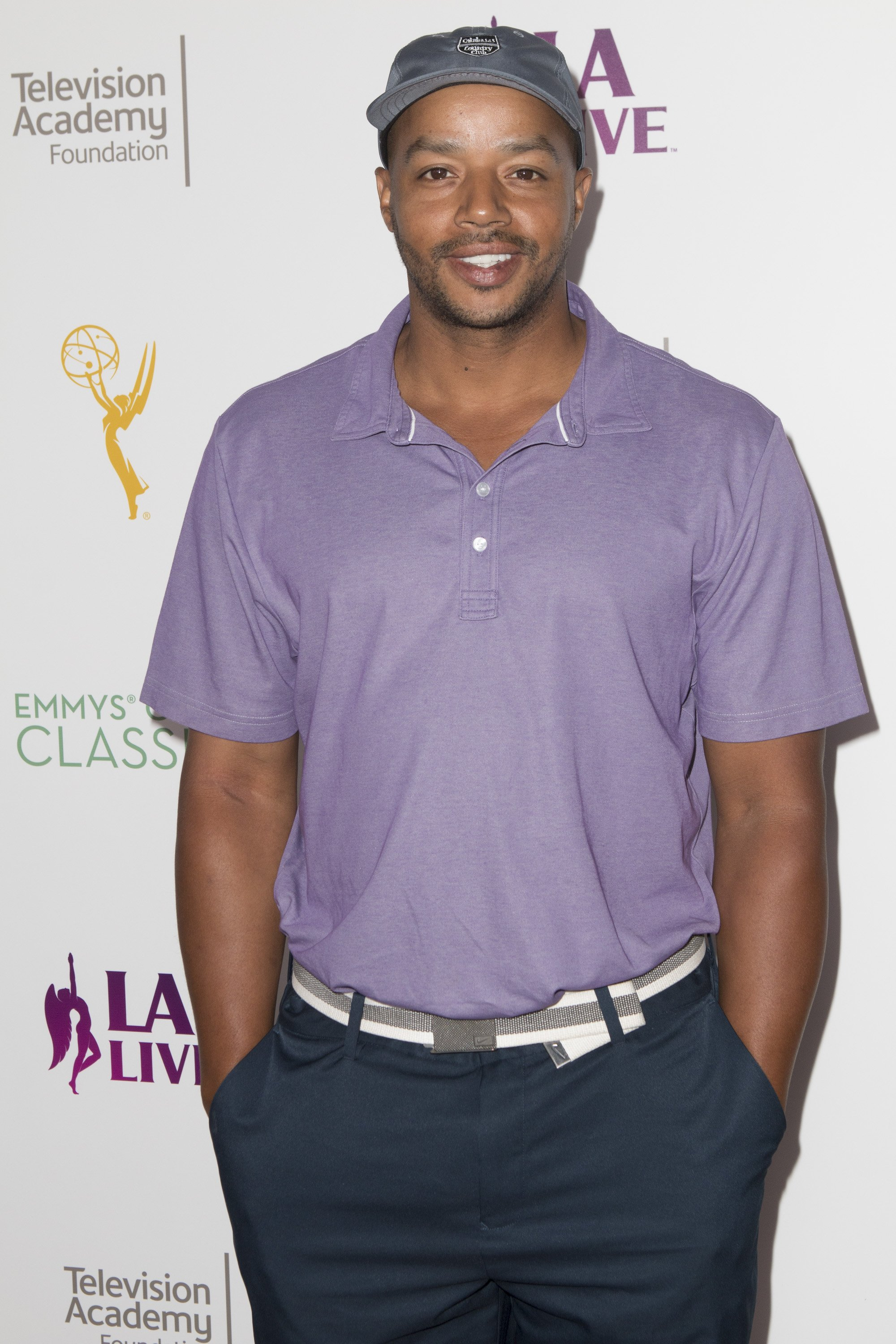 Donald Faison at the 17th Emmys Golf Classic on September 12, 2016   Photo: GettyImages
