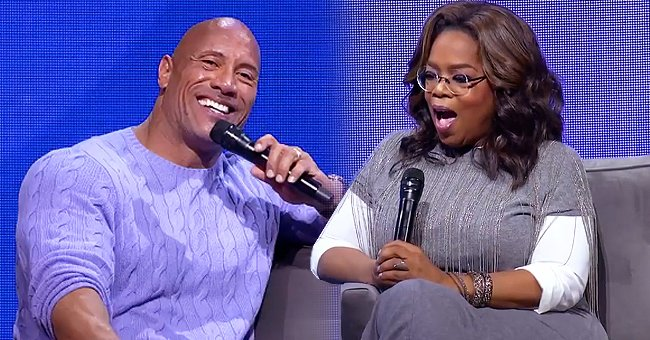 Oprah Winfrey & Dwayne Johnson Drink Actor's Teremana Tequila as They Talk about Late Dad Rocky at 2020 Wellness Tour