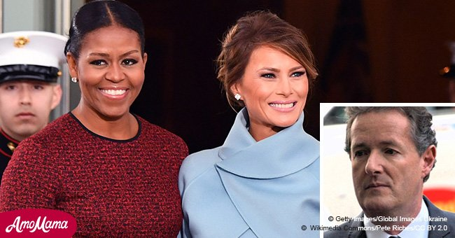 British TV host claims Michelle's book is 'bitchy sniping' at Melania Trump