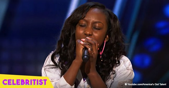 Teen wows 'America's Got Talent' judges with emotional rap about father who was shot dead