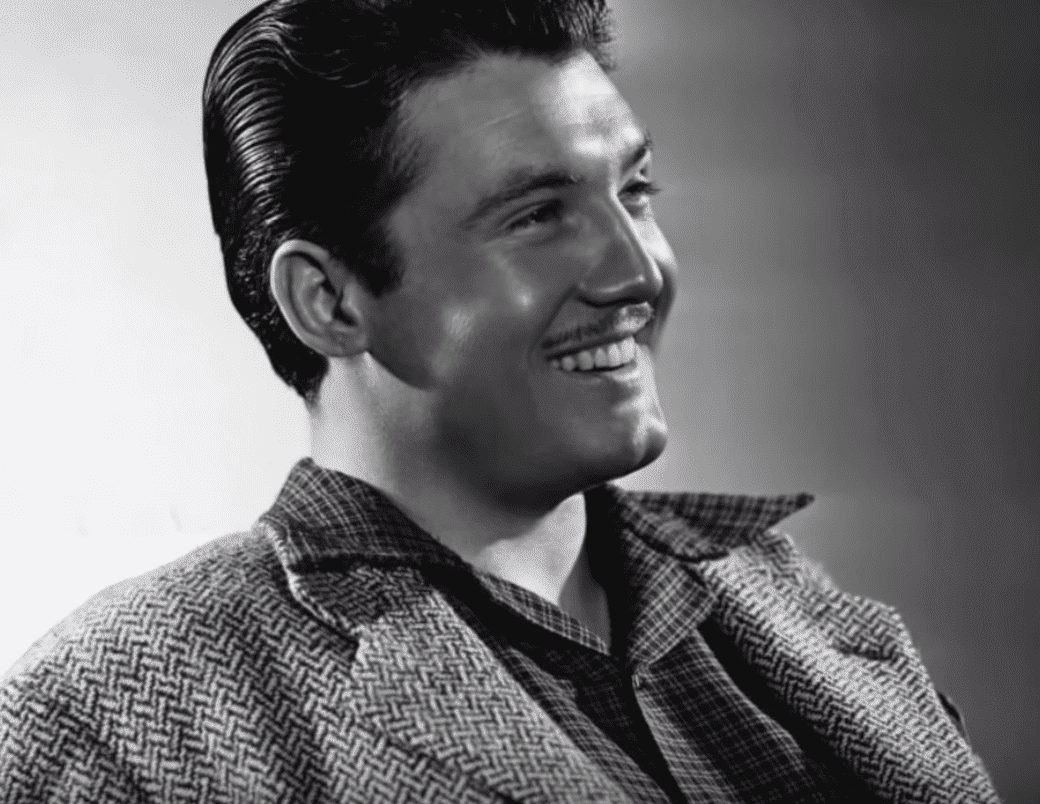 A portrait of George Reeves. | Source: YouTube/TheLifeAndSadEnding