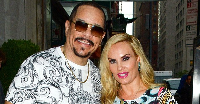Ice-T & Coco Austin's Daughter Chanel Wears a Dress While Visiting Sugar Factory with Her Parents