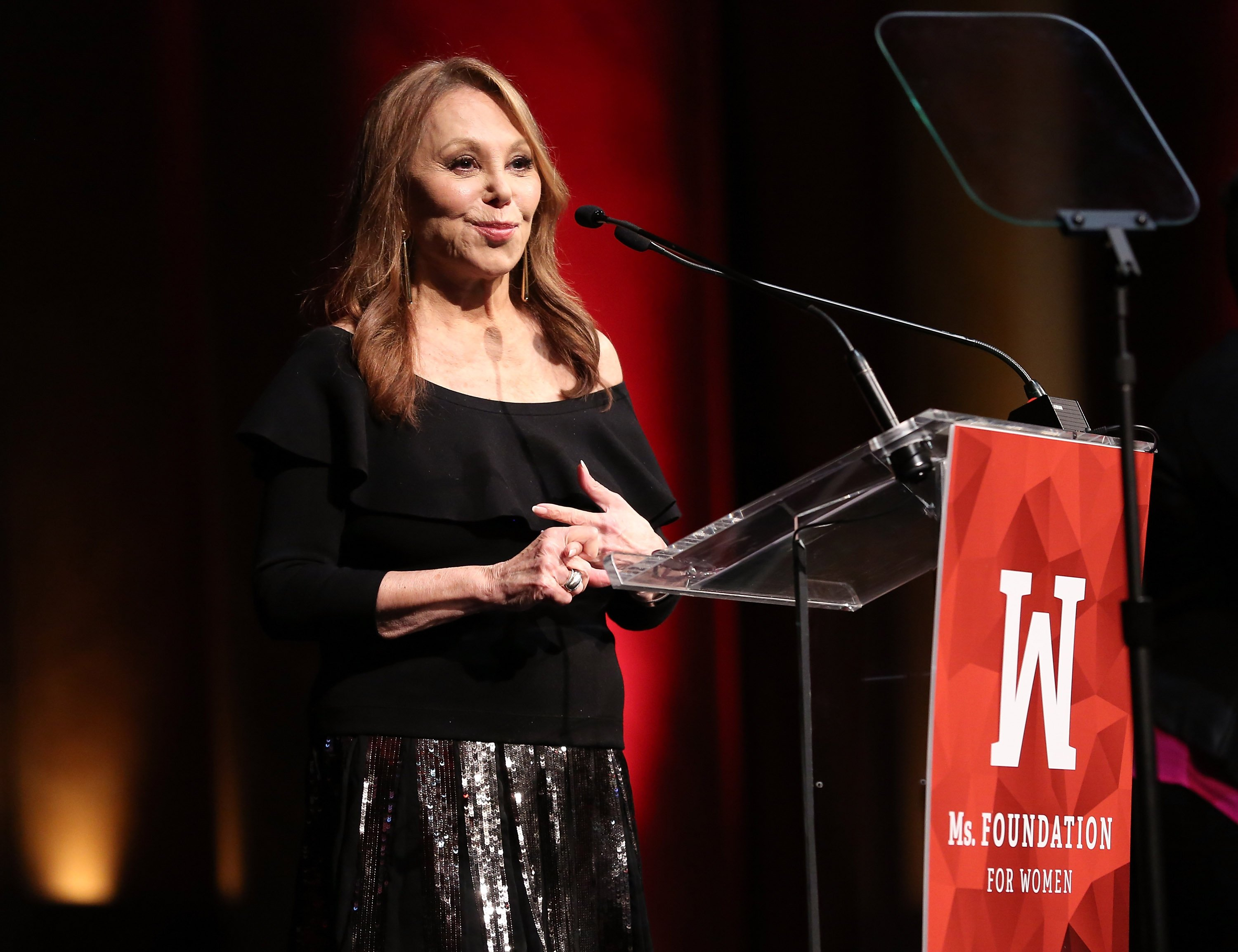 Marlo Thomas speaks at the Ms Foundation 30th Annual Gloria Awards in New York City on May 3, 2018 | Photo: Getty Images