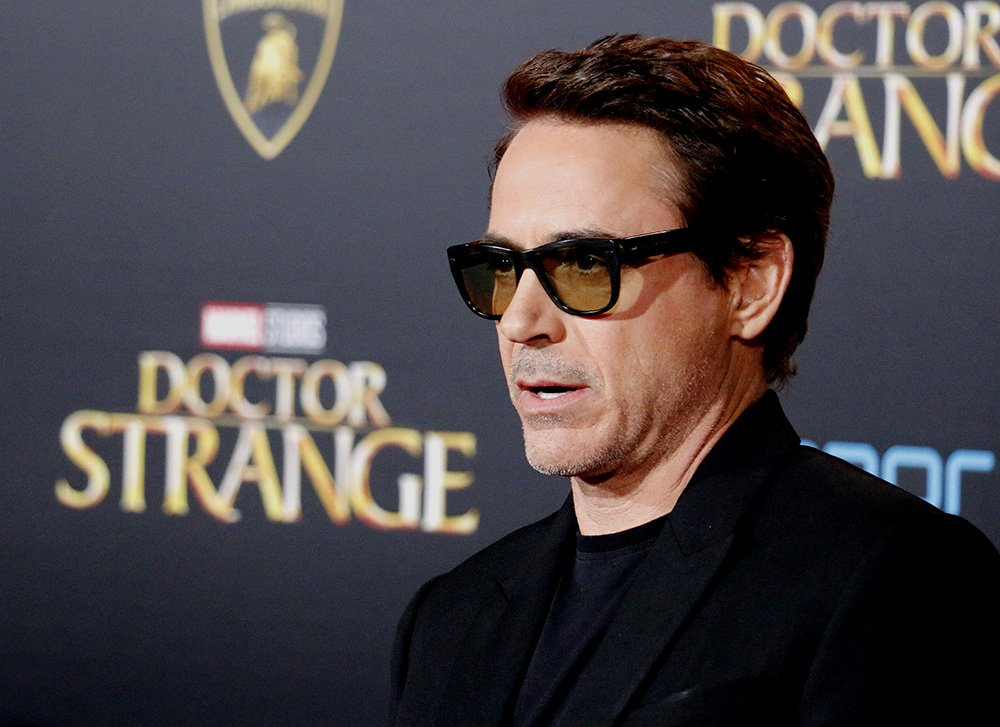 "Robert Downey Jr. arrives for the Premiere of Disney and Marvel Studios' ""Doctor Strange"" held at the El Capitan Theatre on October 20, 2016  I Photo: Shutterstock."