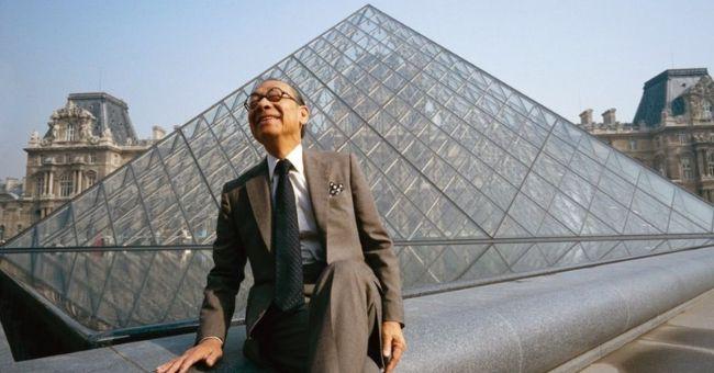 Louvre Pyramid Architect I.M. Pei Dies at 102