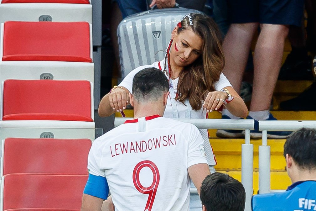 Robert und Anna Lewandowski |Quelle: Getty images