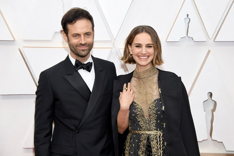 Benjamin Millepied and Natalie Portman on February 09, 2020 in Hollywood, California | Photo: Getty Images