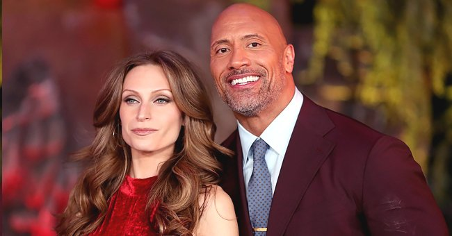 Dwayne 'The Rock' Johnson's Wife Lauren Hashian Posts Throwback Video in Honor of His Late Dad Rocky