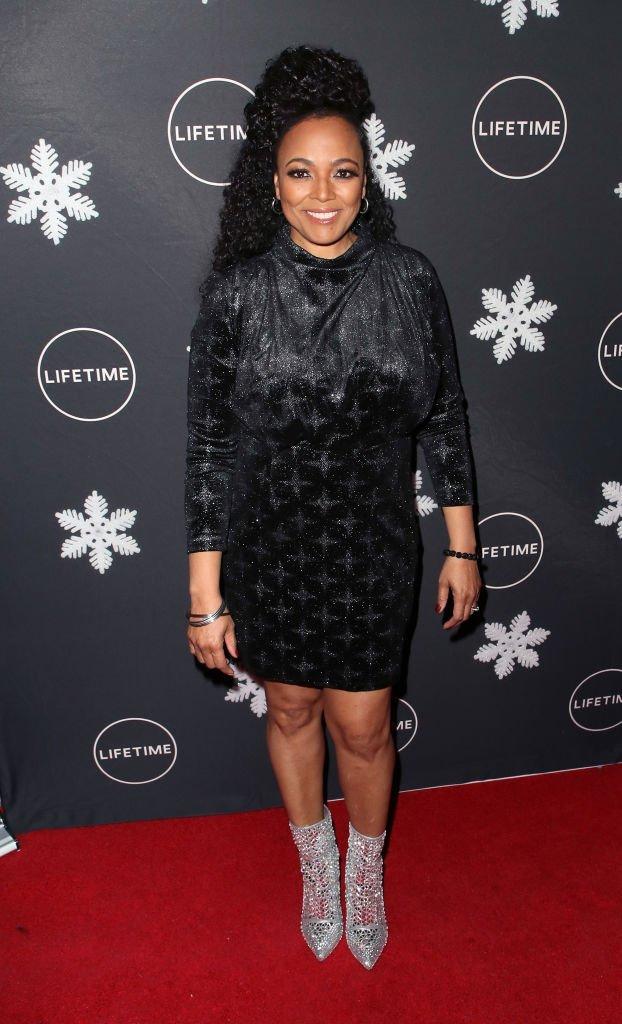 "Kim Fields attends the ""It's A Wonderful Lifetime"" Holiday Party at STK Los Angeles on October 22, 2019 