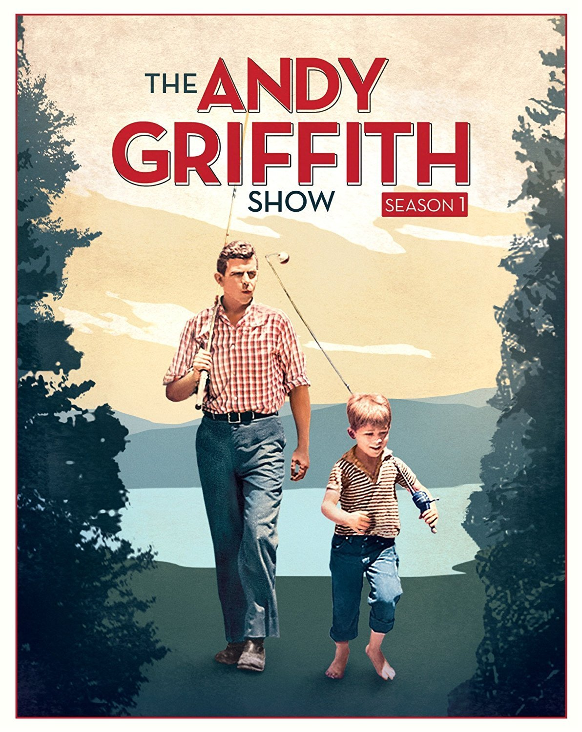 "Promotional poster for ""The Andy Griffith Show."" 