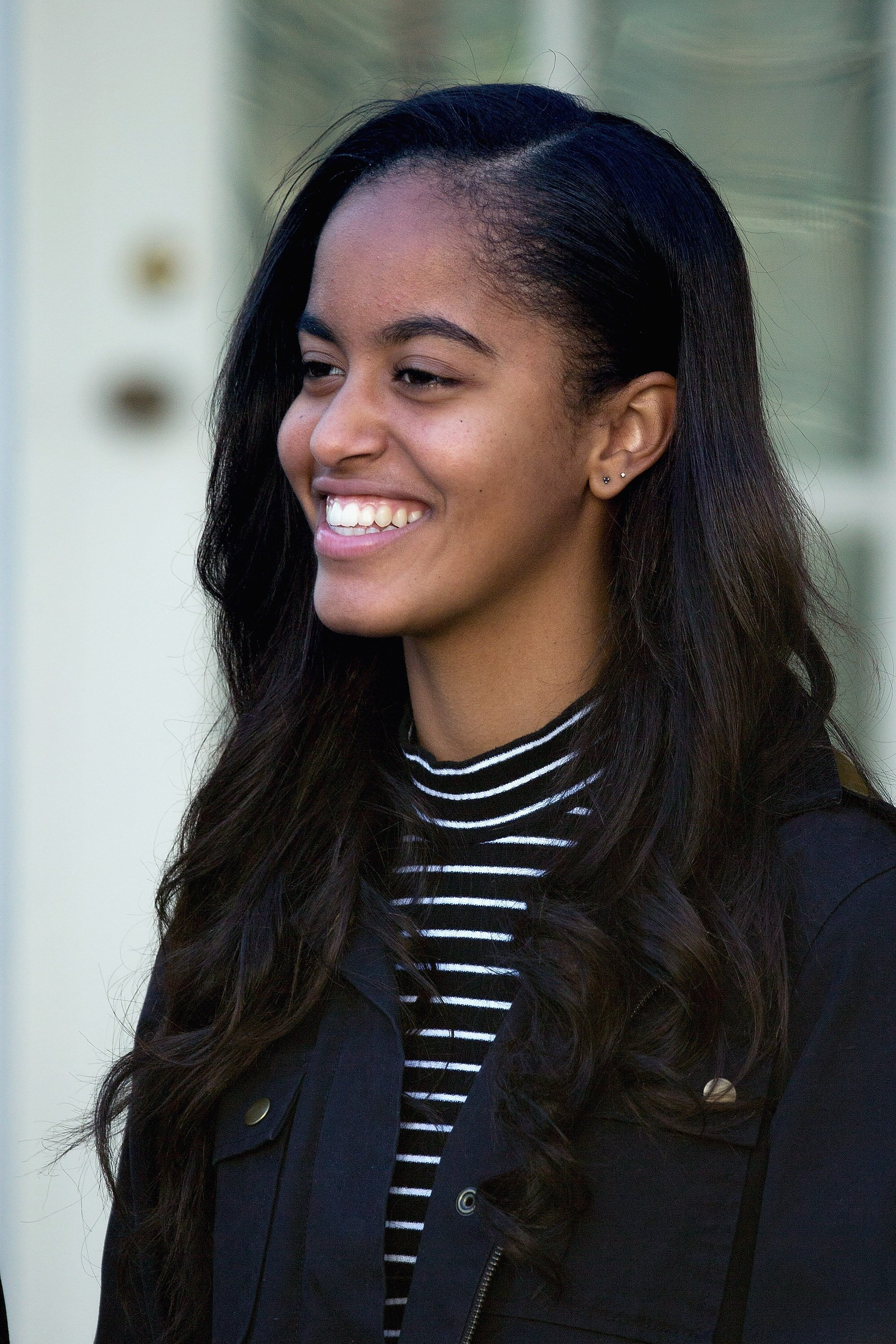 Malia Obama attending the turkey pardoning ceremony in November 2015 | Photo: Getty Images
