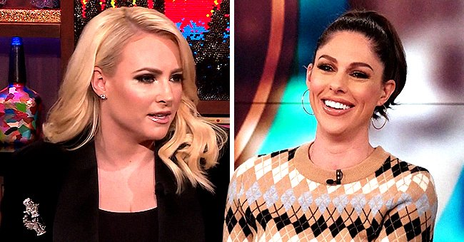 Meghan McCain Admits to Andy Cohen That She and Former 'View' Co-Host Abby Huntsman Got into a Fight