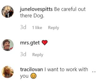 Fan comments left on Duane Chapman's post | Instagram: @duanedogchapman