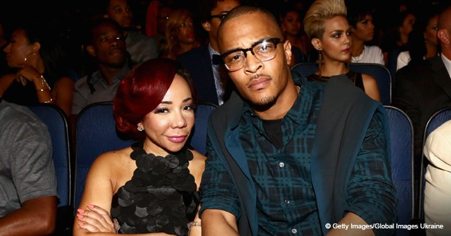 Tiny and T.I. Take 3-Year-Old Heiress to Visit the Grave of Their Daughter Leyah Who Died in 2007