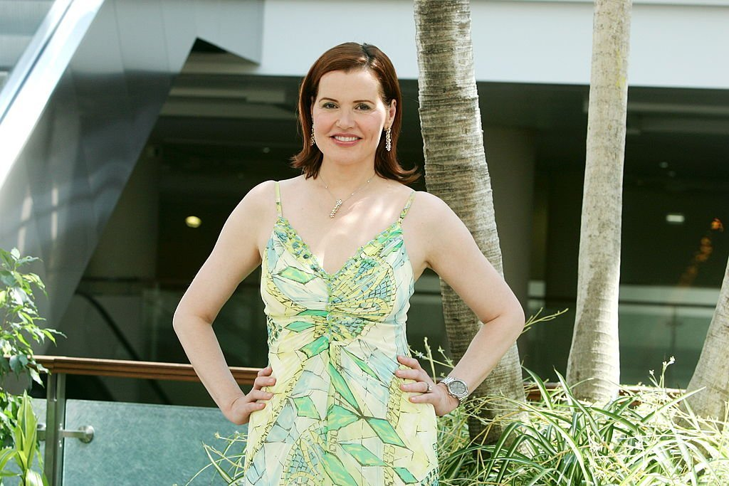 """U.S actress Geena Davis attends the photocall of tv series """"Commander in Chief"""" during the 46th annual Monte Carlo Television Festival at the Forum Grimaldi, on July 1, 2006. 
