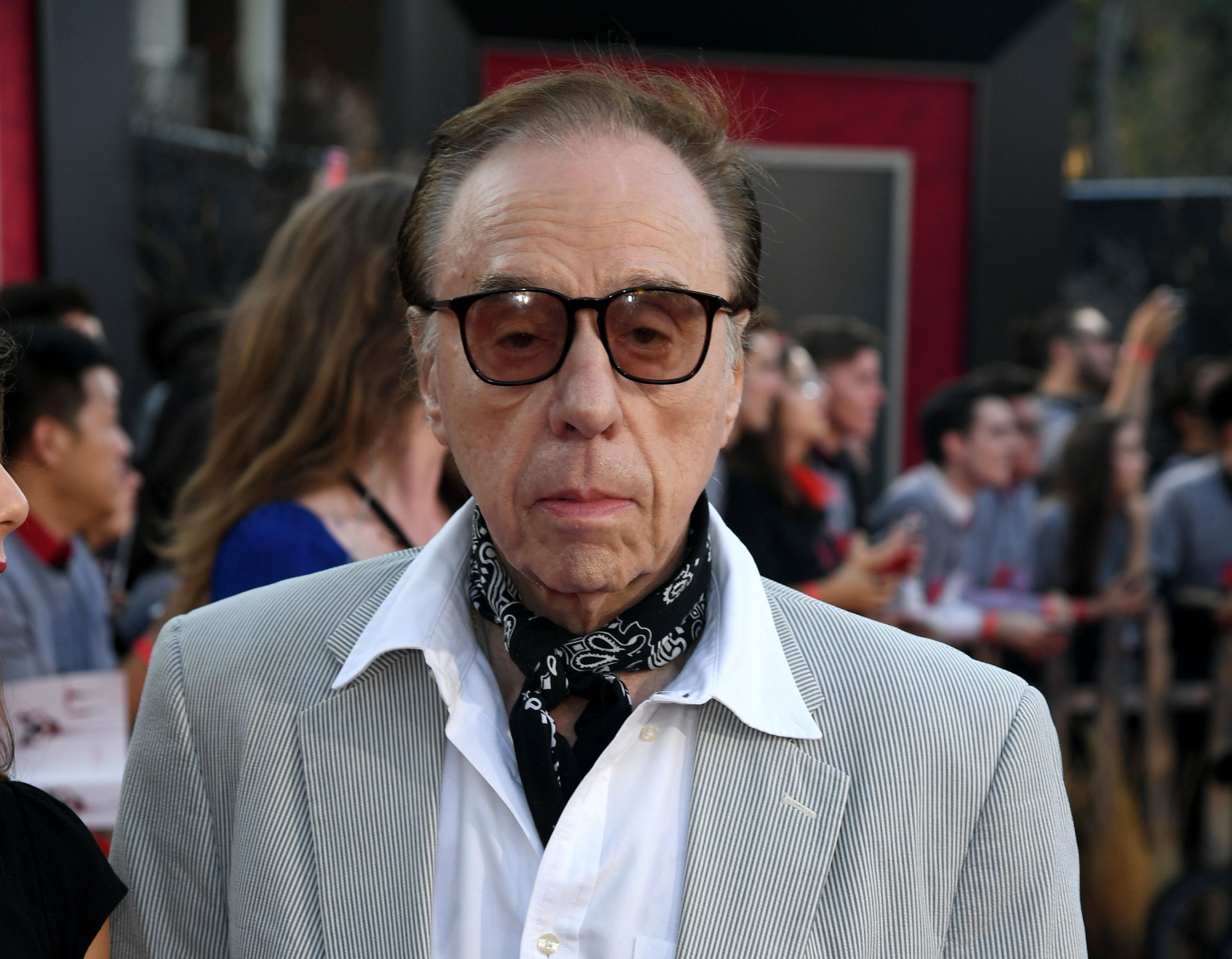 """Peter Bogdanovich at the premiere of Warner Bros. Pictures"""" """"It Chapter Two"""" at Regency Village Theatre on August 26, 2019 