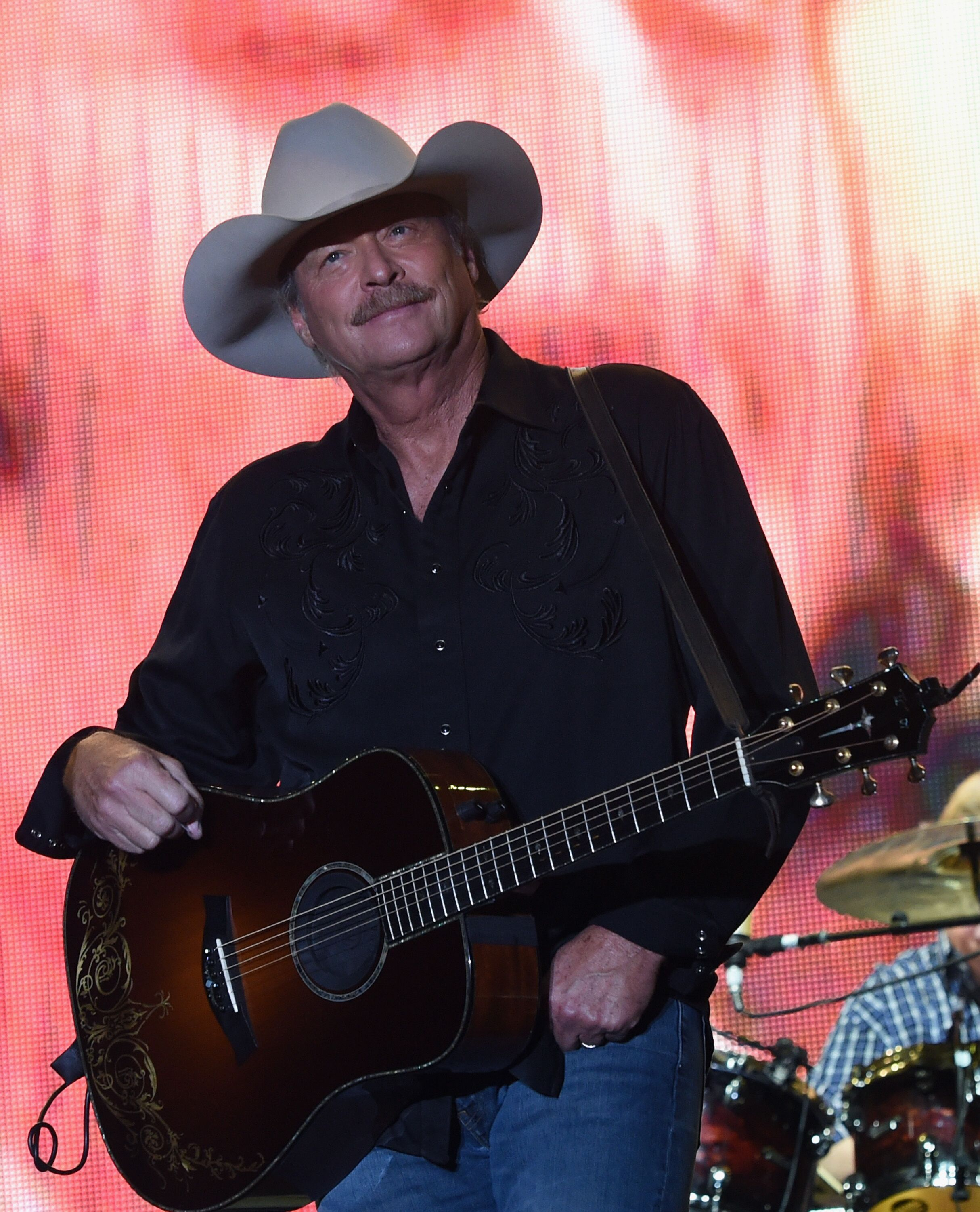 Alan Jackson performs during Kicker Country Stampede - Day 3 at Tuttle Creek State Park on June 24, 2017 in Manhattan, Kansas. | Source: Getty Images