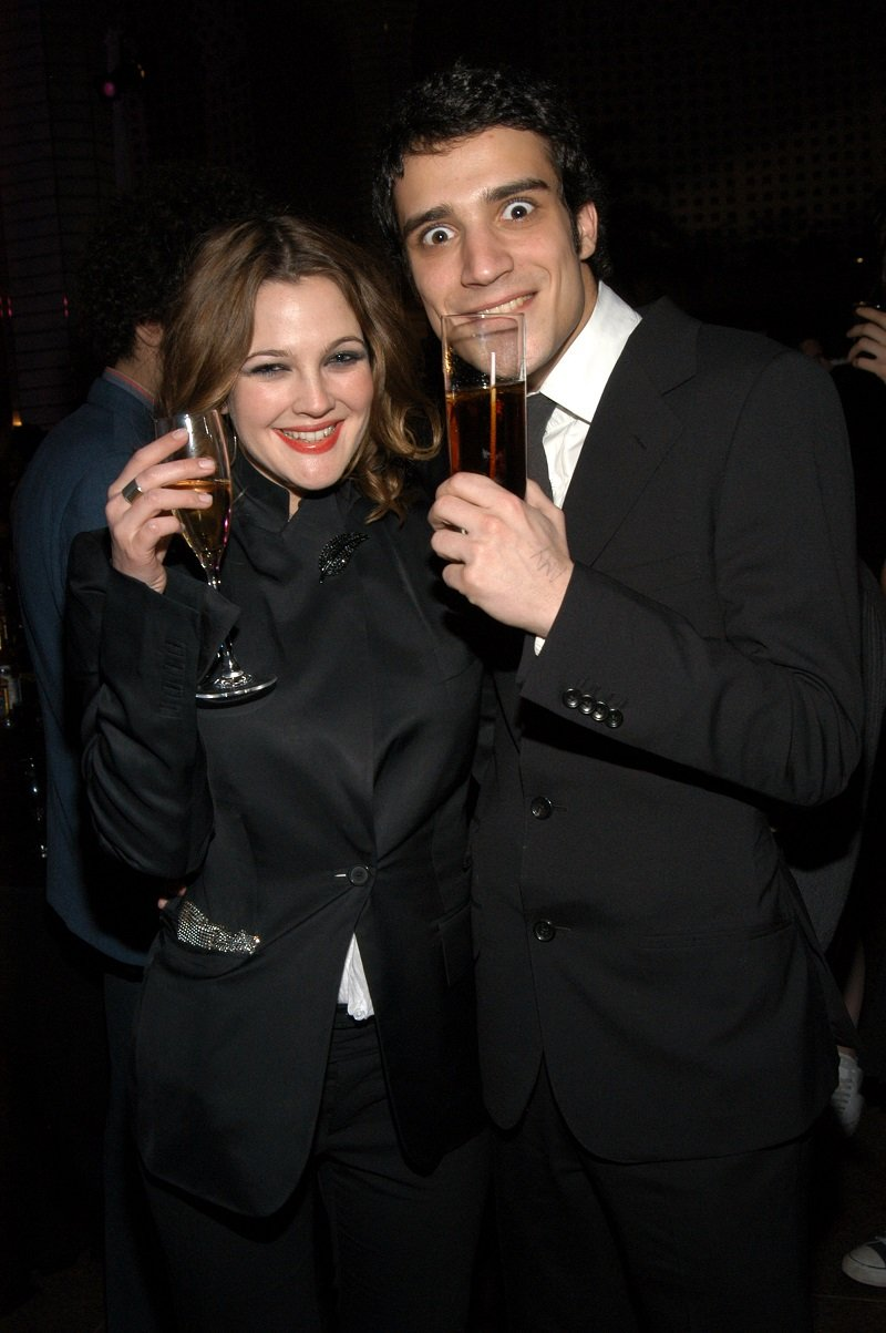 Drew Barrymore and Fabrizio Moretti in February 2003 in New York City | Photo: Getty Images