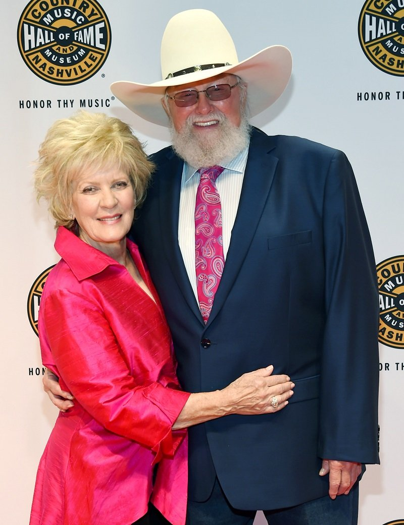 Charlie Daniels and his wife Hazel Daniels on October 16, 2016 in Nashville, Tennessee | Photo: Getty Images