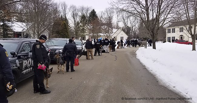 Gravely Ill 7-Year-Old Girl Who Loves Dogs Was Visited by 40 Police Depts. with K-9 Officers