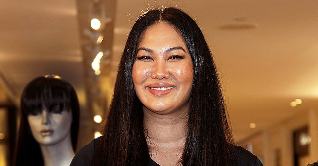 Kimora Lee Simmons' Sons Flaunt Their Resemblance with Their Mom as They Pose Poolside