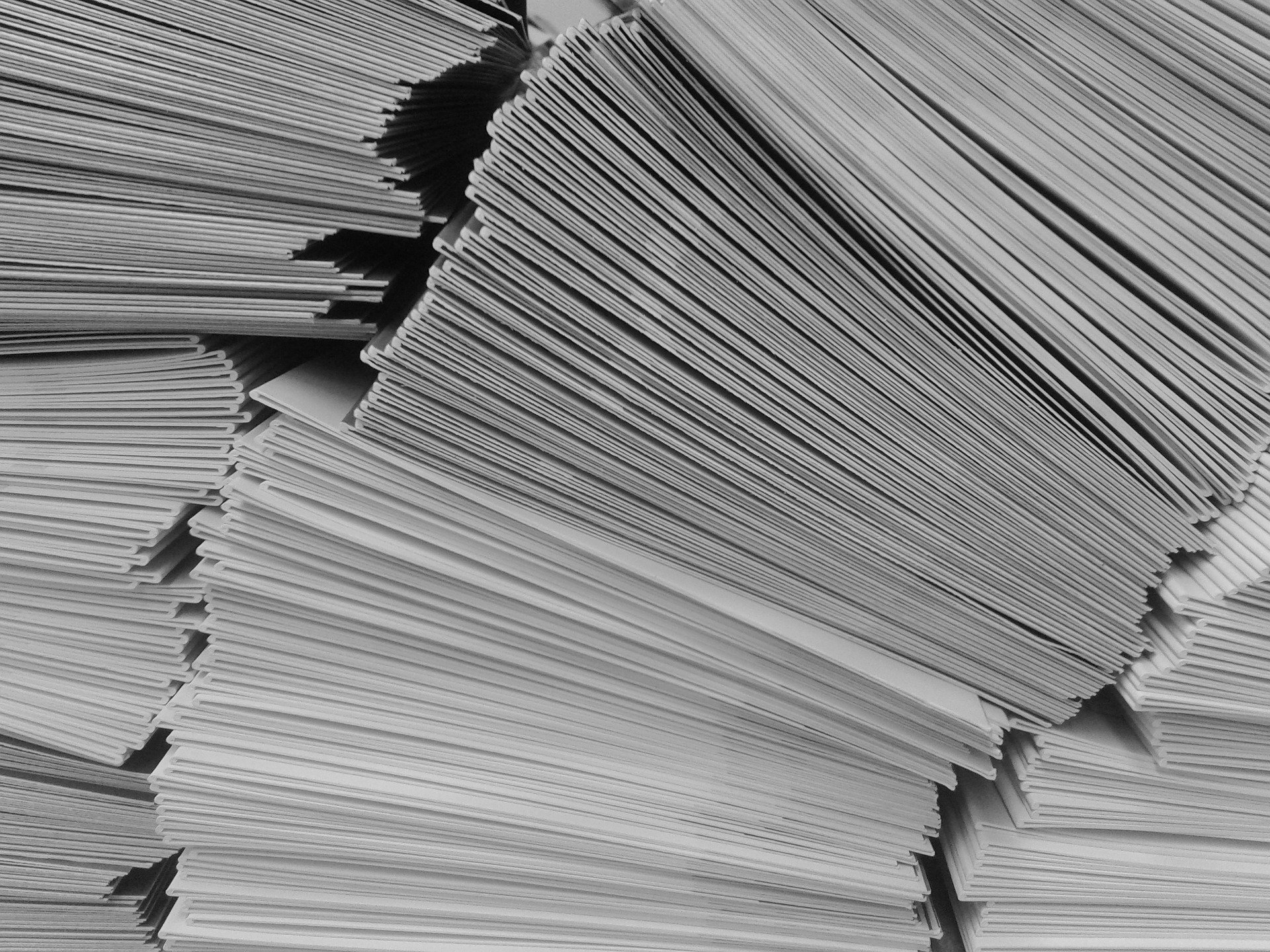 The professor collected all of the students' exam packets, expect for one.   Photo: Pixabay/cocoparisienne