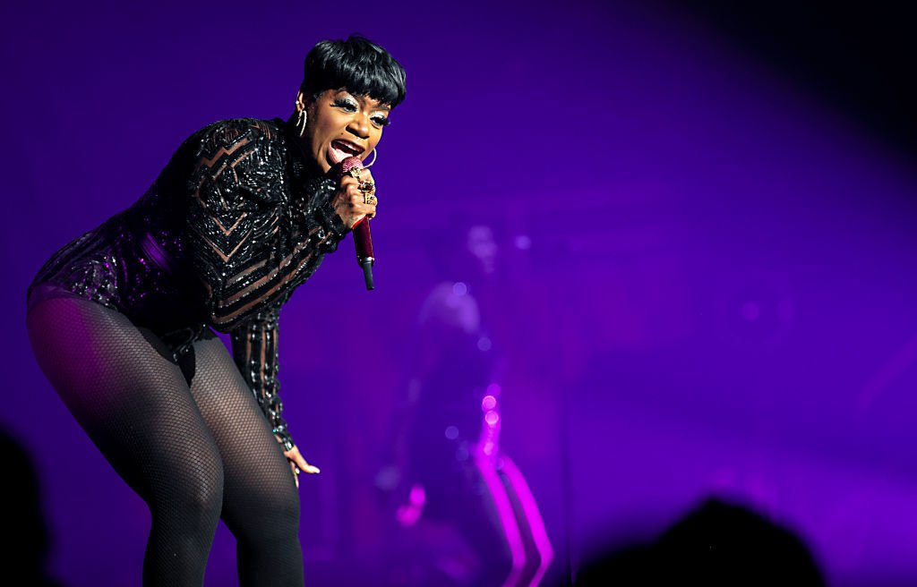 Singer Fantasia performs at Bojangles Coliseum | Photo: Getty Images