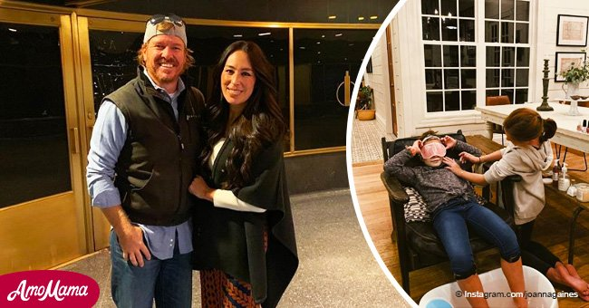 Joanna Gaines shares sweet photo of two of her daughters celebrating 'ladies night'
