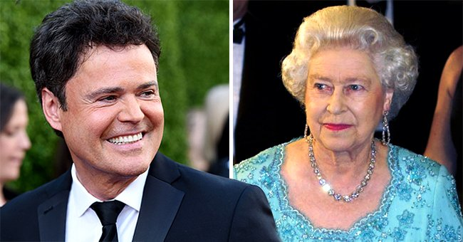 Donny Osmond Wishes Happy Birthday to the Queen with a Throwback Photo of When They Met in 2003
