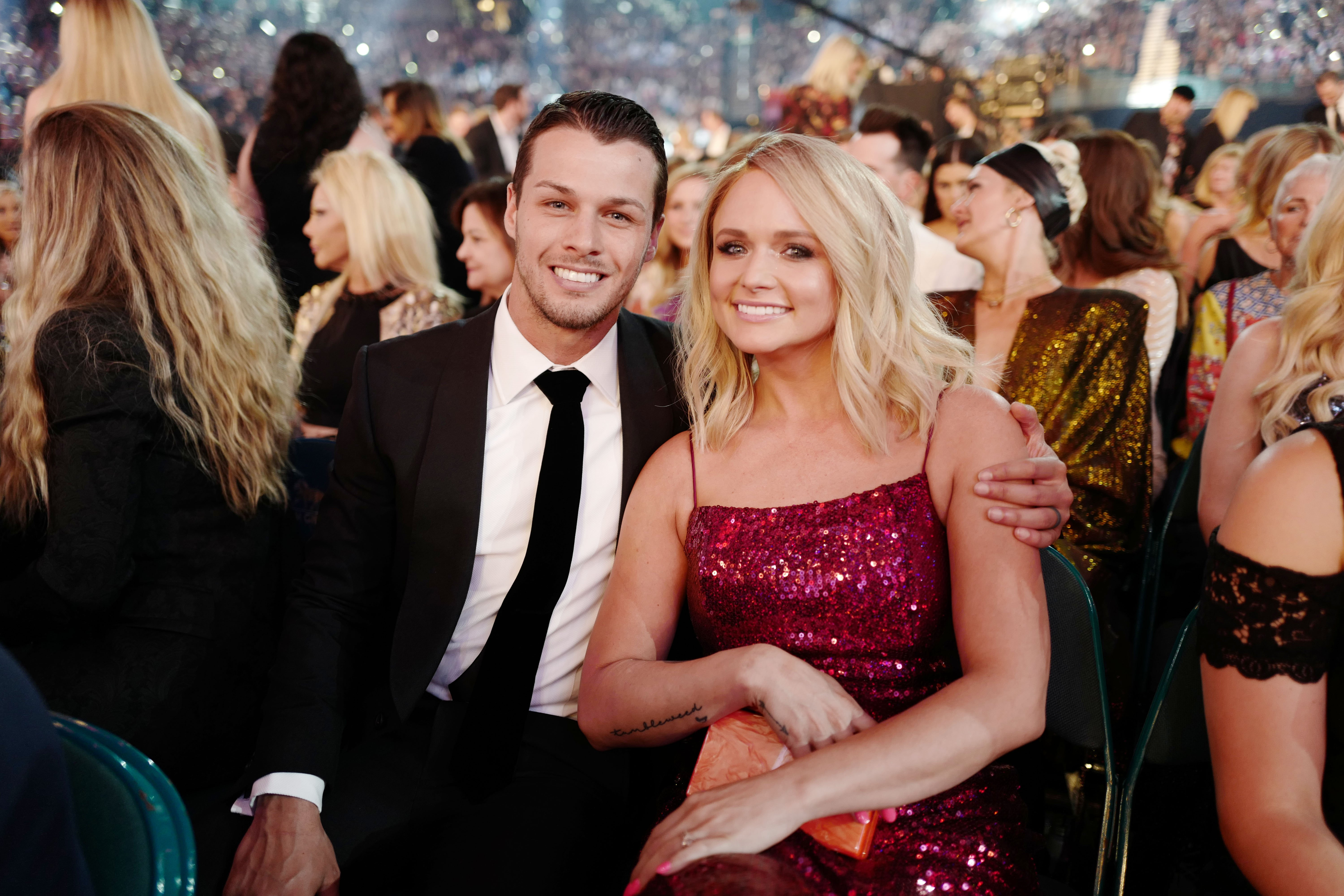 Brendan McLoughlin and Miranda Lambert attend the 54th Academy of Country Music Awards in Las Vegas, Nevada on April 7, 2019 | Photo: Getty Images
